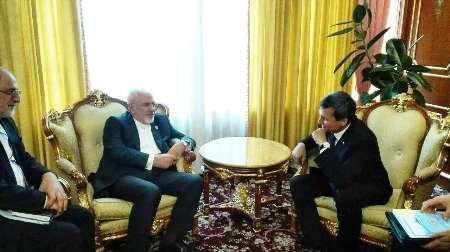 ظریف با وزیر خارجه تاجیکستان دیدار کرد
