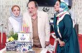 جشن تولد امین تارخ در مرکز خانم بازیگر+عکس