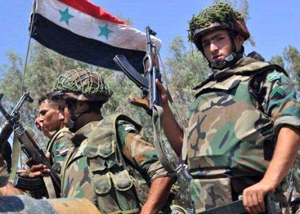 درگیری شدید ارتش سوریه با تروریست ها در شمال حمص