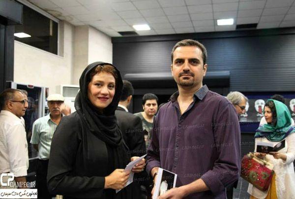 شبنم مقدمی و همسرش+عکس