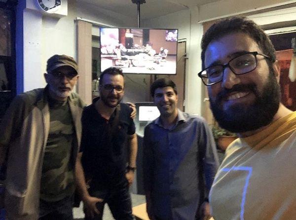 دورهمی محمد سلوکی با دوستانش + عکس