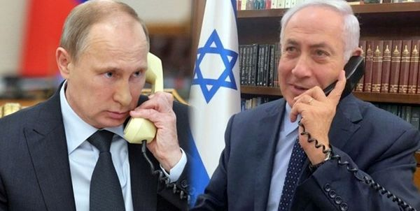 تماس تلفنی نخستوزیر رژیم صهیونیستی با پوتین