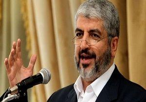 خالد مشعل: کسی حق ندارد حقوق ملت فلسطین را نقض کند