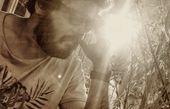 مهران رنجبر در آفتاب صبحگاهی + عکس