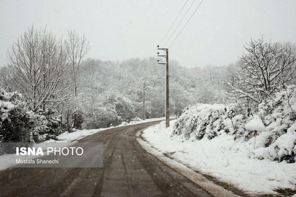 اخطاریه سازمان هواشناسی نسبت به وقوع طوفان و بارش برف در برخی مناطق کشور