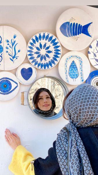 دیوار رنگی شهرزاد کمال زاده + عکس