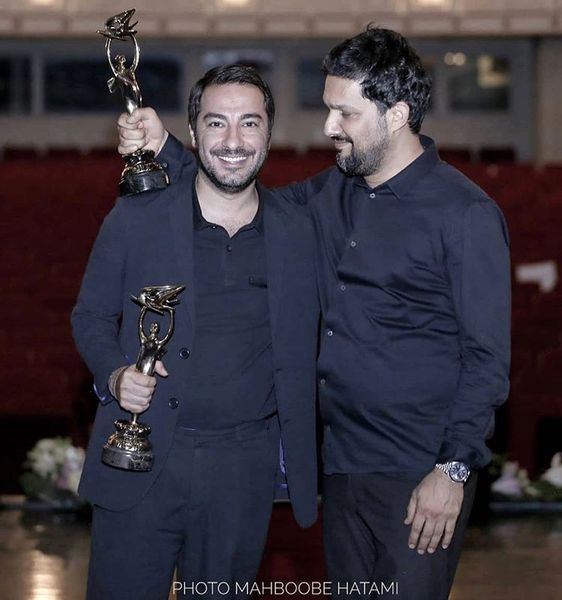 شادی نوید محمدزاده و حامد بهداد در یک مراسم + عکس