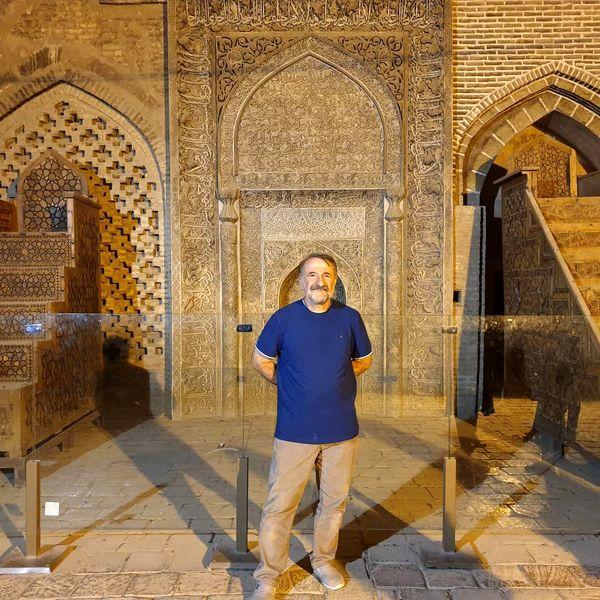 اصفهان گردی مهران رجبی + عکس