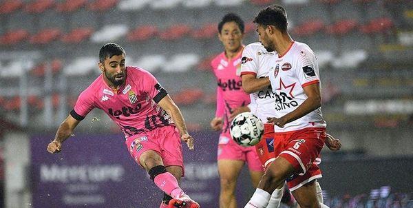 شکست شارلروا در حضور بازیکنان ایرانی