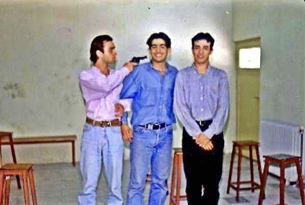 عکس دیده نشده از جوانی حمید گودرزی و دوستانش