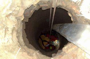 مرگ کارگر جوان در عمق ۱۰ متری چاه