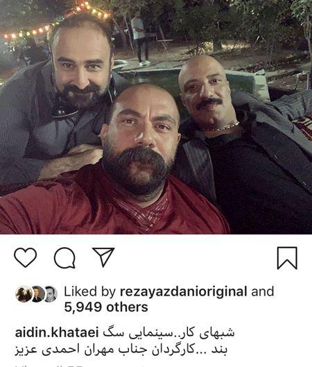 بازیگر مختارنامه همبازی امیر جعفری شد + عکس