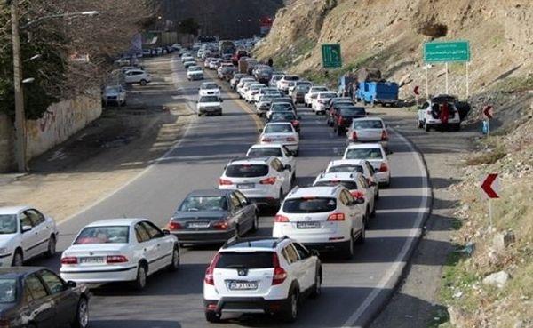 آخرین وضعیت جاده ها امروز چهارشنبه 5 آذر