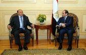 السیسی: ثبات منطقه با امنیت یمن ارتباط مستقیم دارد