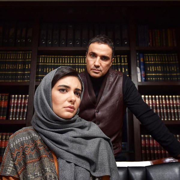 چشم غره محمدرضا فروتن برای لیندا کیانی