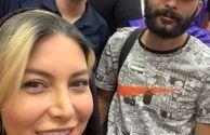 عکس همسر بازیگر مرحوم مسعود رسام و شاگردانش