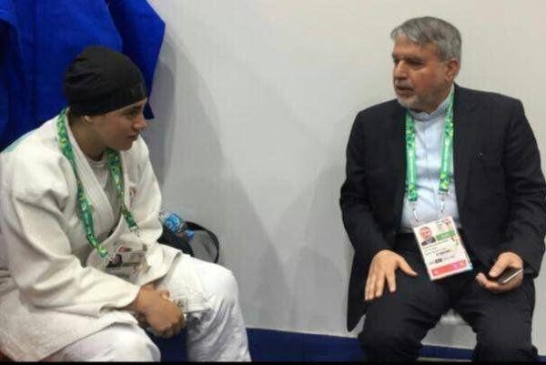 مقصر حذف دختر ایرانی در المپیک کیست؟