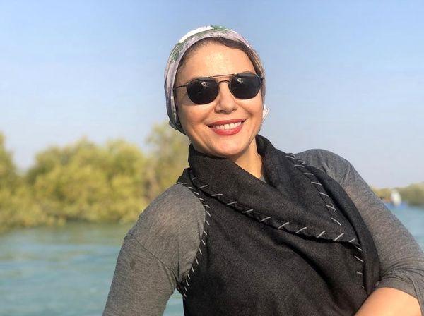 شبنم فرشاد جو در قشم + عکس
