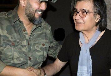 آرزوی کامبیز دیرباز برای مرد بازیگر همیشه خندان سینما+عکس