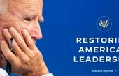راه اندازی پایگاه اینترنتی دولت انتقالی «جو بایدن»
