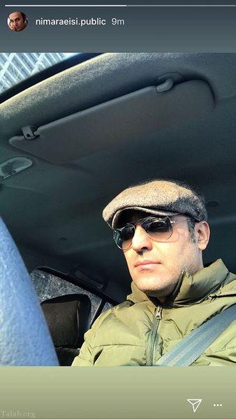 نیما رئیسی در خودرو شخصی اش+عکس