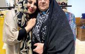 طرفدار مسن بهنوش بختیاری + عکس
