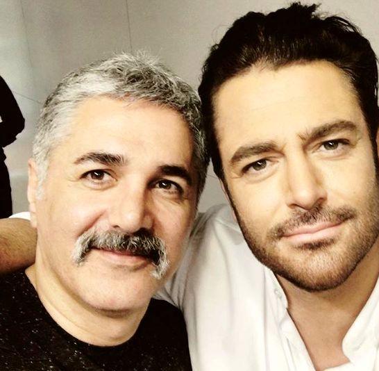 سلفی گلزار با یکی از بازیگران روزگار جوانی + عکس