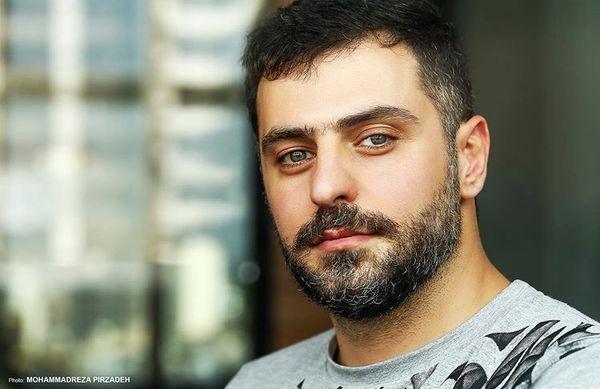 ظاهر جدید علی ضیا + عکس