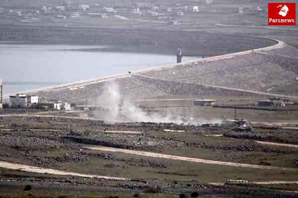 شلیک گلوله از سمت سوریه به سوی پهپاد اسرائیلی