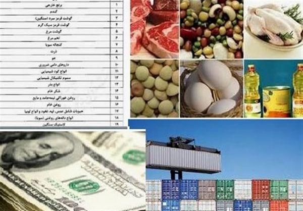 جزئیات واردات کالاهای اساسی در ۹ماهه سال