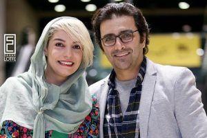 پنجمین سالگرد ازدواج امین زندگانی و همسرش الیکا عبدالرزاقی/عکس