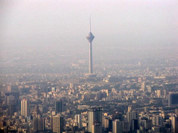 هوای تهران در آستانه ناسالم شدن برای تمام افراد جامعه