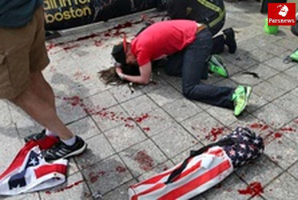 ۳ کشته و ۱۴۰ زخمی در انفجارهای مسابقه ماراتن درآمریکا