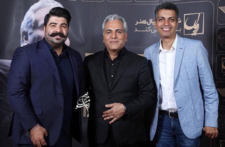 مهران مدیری در کنار مرد جنجالی شبکه سه+عکس