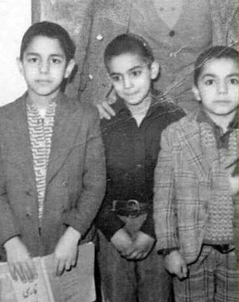عکس بامزه و دیده نشده از کودکی مهران مدیری