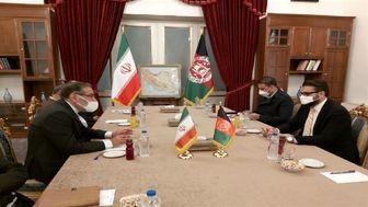 شمخانی با مشاور امنیت ملی افغانستان دیدار کرد