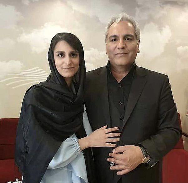 مهران مدیری و دخترش + عکس