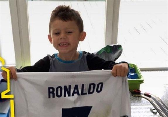هدیه رونالدو برای پسر ستاره دورتموند+عکس