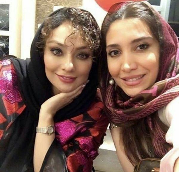 یکتا ناصر در کنار دختر بازیگر مشهور + عکس
