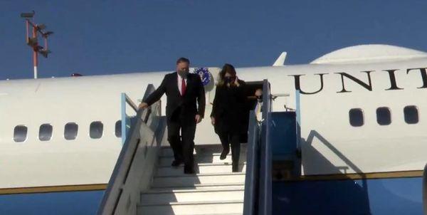 وزیر خارجه آمریکا وارد فلسطین اشغالی شد