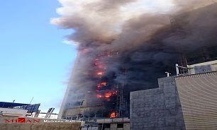 آتش به جان خوابگاه سه طبقه دختران افتاد ! + جزییات