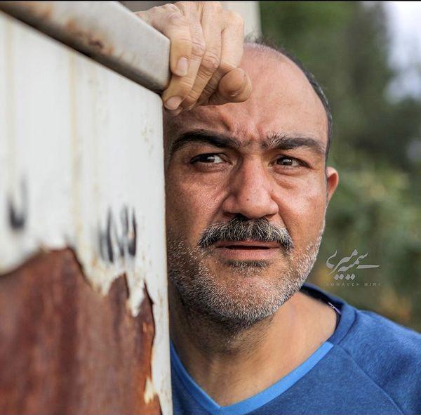 چهره پیر شده مهران غفوریان + عکس