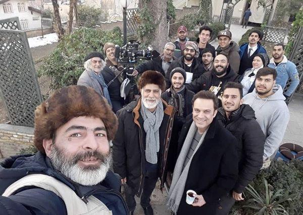 شهروز ابراهیمی و همکارانش + عکس