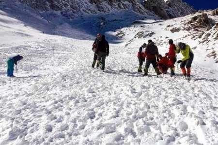 جسد یک کوهنورد در ارتفاعات جاده کرج -چالوس کشف شد