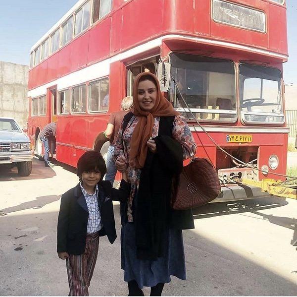 ژاله صامتی و پسر کوچولوی شیطونش + عکس