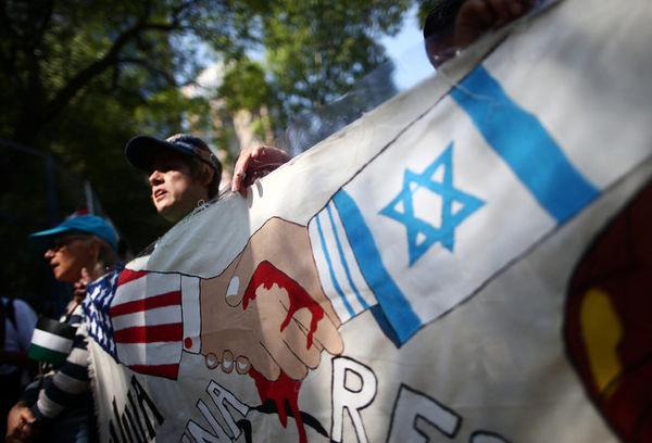 تظاهرات کشورهای جهان در اعتراض به کشتار فلسطینیان و انتقال سفارت آمریکا