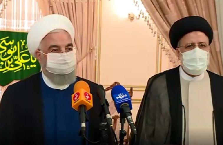روحانی: من و وزرا در خدمت آقای رئیسی هستیم
