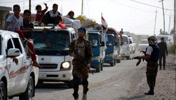 بازگشت بیش از صد هزار خانواده عراقی به مناطق خود