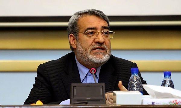 وزیر کشور: عراق مخالف حذف ویزای اربعین است و ما موافقیم