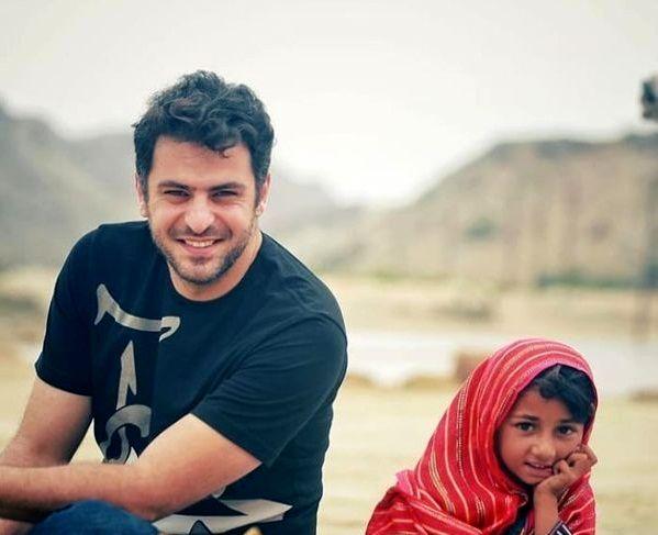 عکس علی ضیا با دختر ناز و زیبا